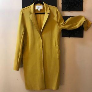 Carolina Belle long yellow jacket with large snaps